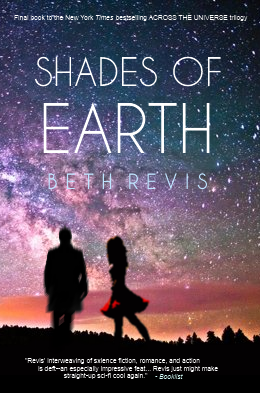 Cover Shades of Earth englisch