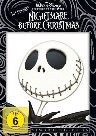 Cover The Nightmare before Christmas DVD