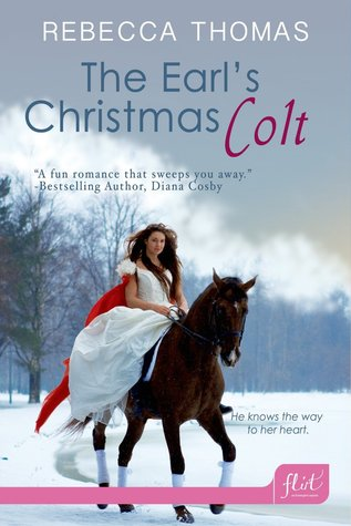 Cover The Earl's Christmas Colt Englisch
