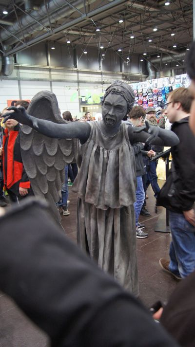Buchmesse 2014 Kostüm Weeping Angel