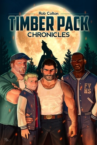Cover Timber Pack Chronicles Englisch