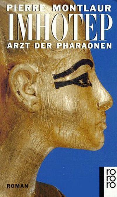Cover Imhotep Arzt der Pharaonen deutsch