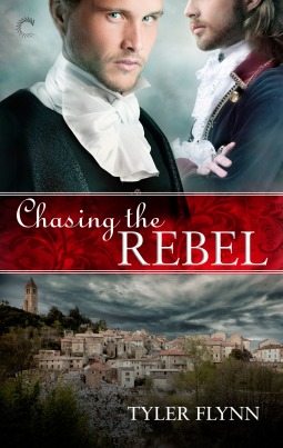 Cover Chasing the Rebel Englisch