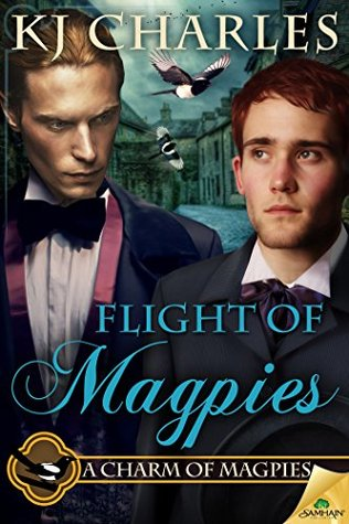 Cover Flight of Magpies englisch