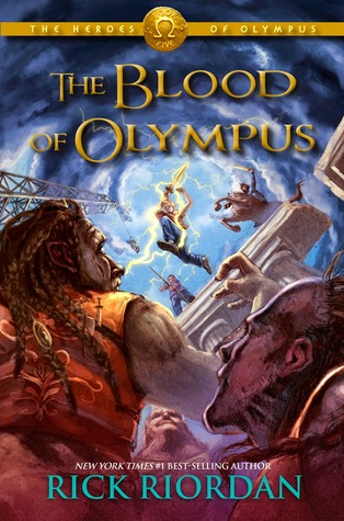 Cover Blood of Olympus I englisch