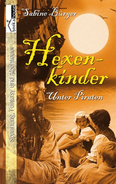 Cover Hexenkinder 2 Unter Piraten deutsch