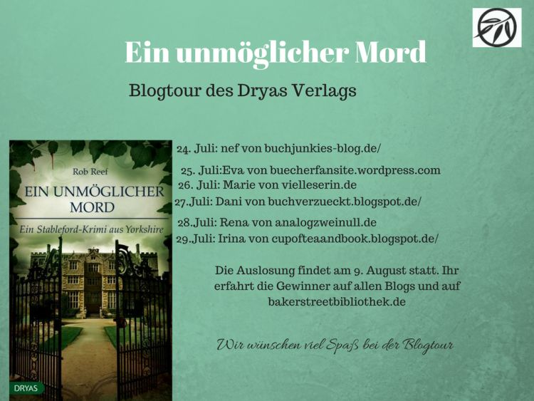 Blogtour Dryas Rob Reef