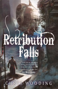 Cover Retribution Falls englisch