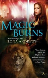Cover Magic Burns englisch