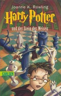 Cover Harry Potter und der Stein der Weisen deutsch
