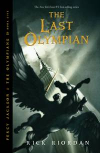 Cover The Last Olympian englisch