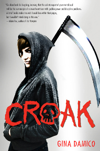 Cover Croak Englisch