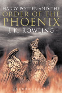 Cover Harry Potter and the Orden of the Phoenix englisch