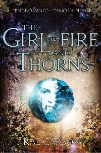 Cover The Girl of Fire and Thorns englisch