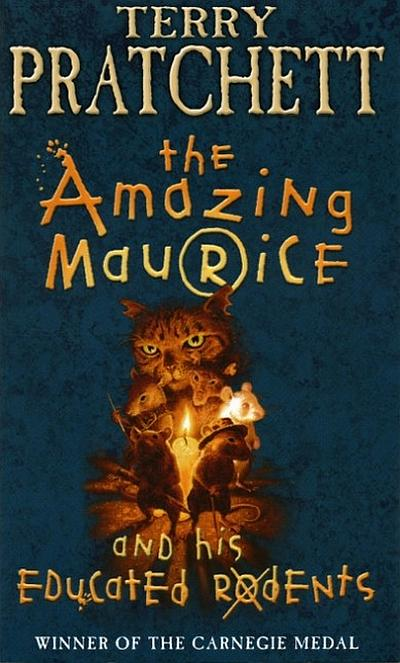 Cover The Amazing Maurice and his Educated Rodents englisch