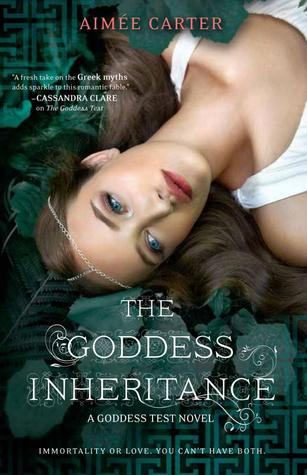 Cover The Goddess Inheritance Englisch