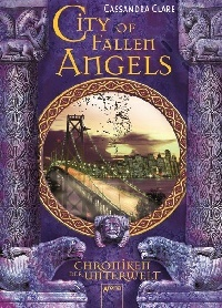 Cover City of Fallen Angels deutsch