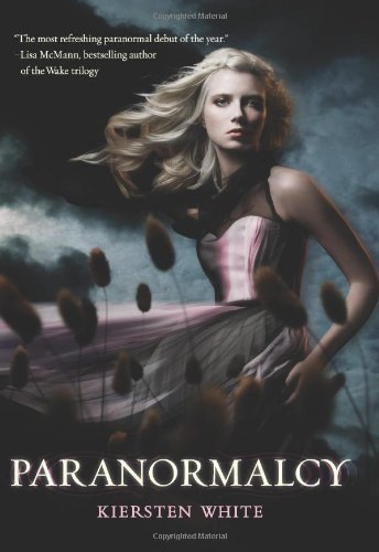 Cover Paranormalcy Englisch