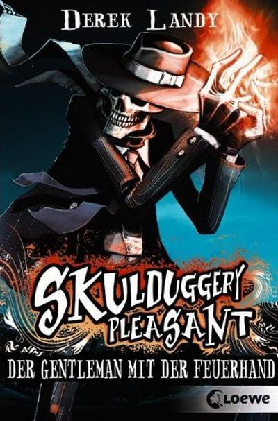 Cover Skulduggery Pleasant deutsch