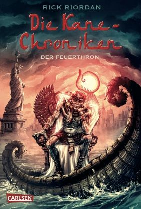 Cover Der Feuerthron deutsch