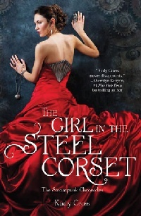 Cover The Girl in the Steel Corset englisch