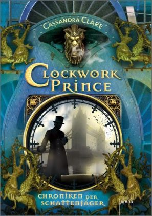 Cover Clockwork Prince deutsch